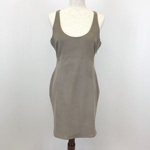 Philosophy Tan Faux Suede Dress